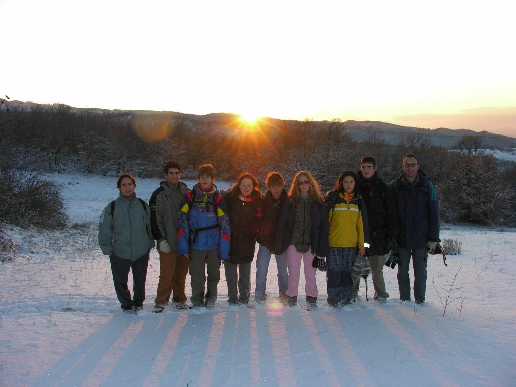 Campo invernale 2005 1